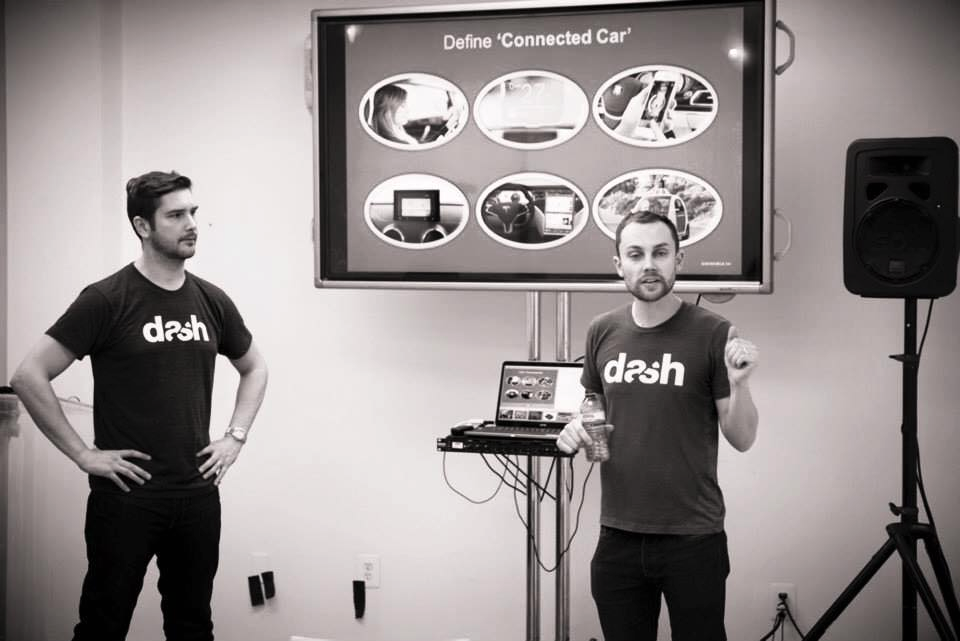 Dash Co- founder and CEO, Jamyn Edis, with Co- founder and CTO, Brian Langel