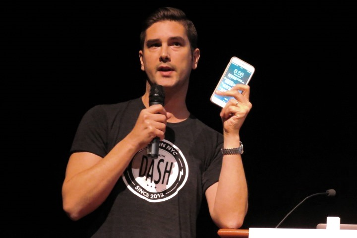 Dash Founder Jamyn Edis introducing Dash mobile app