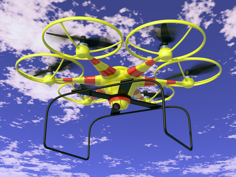 Drones Bringing Technology to People