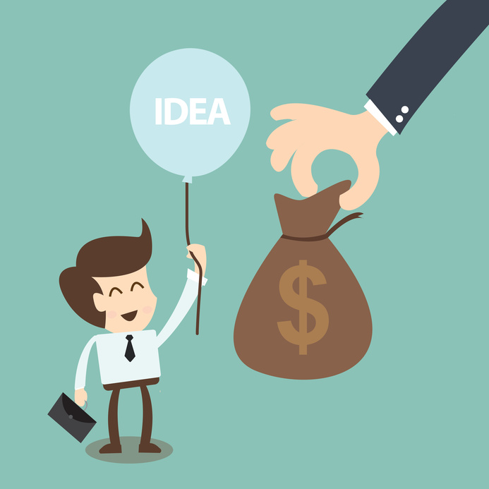 Startup Funding - Magazine cover