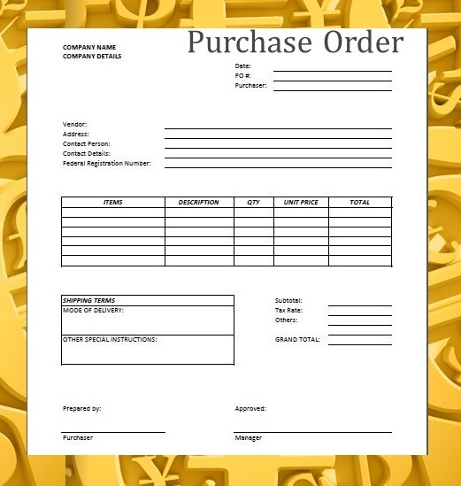 forms  u0026 documents needed for proper accounting documentation