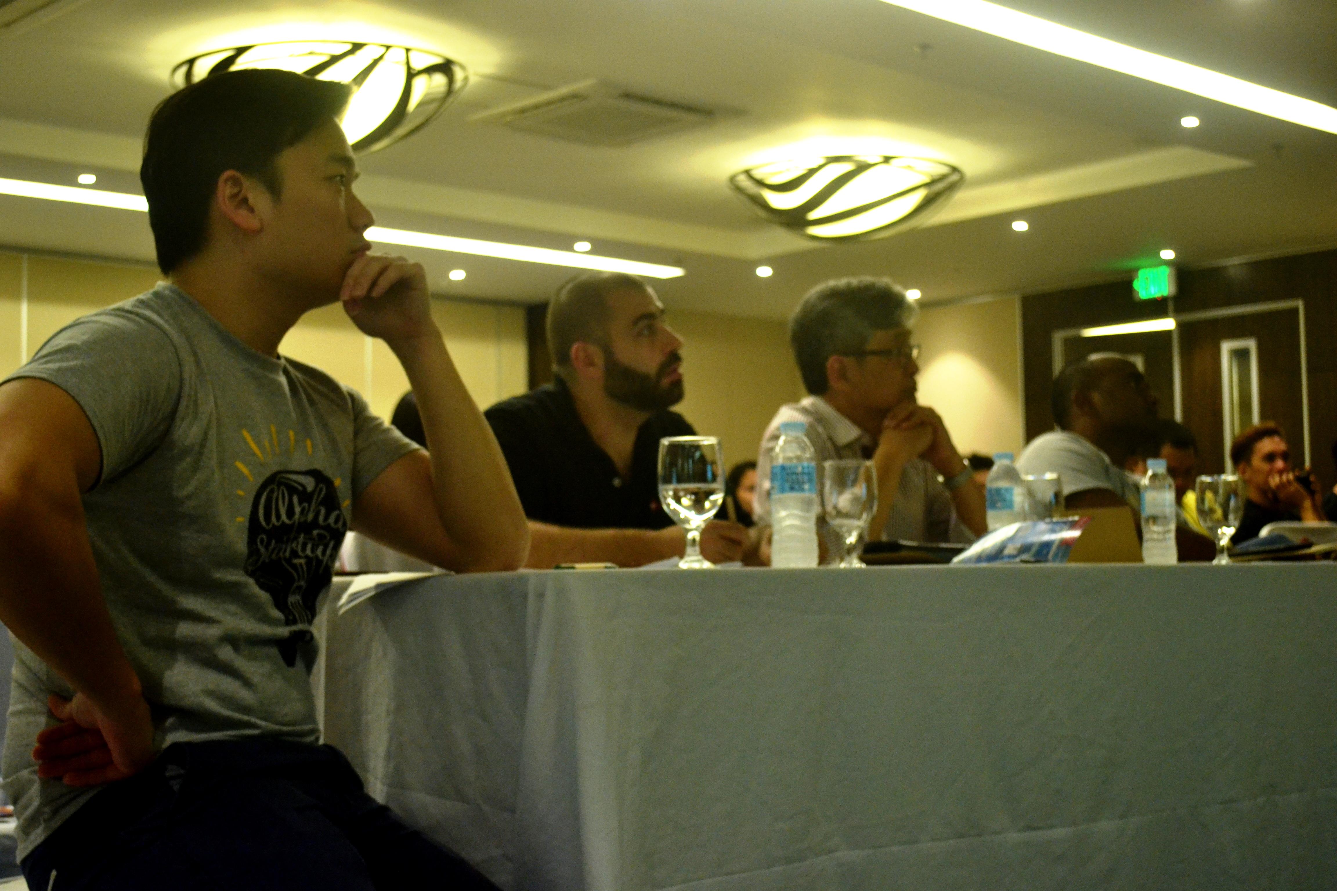 The judges in alpha startups