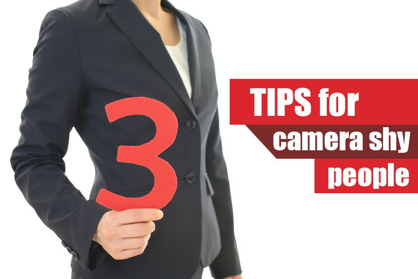 3 tips for camera shy people