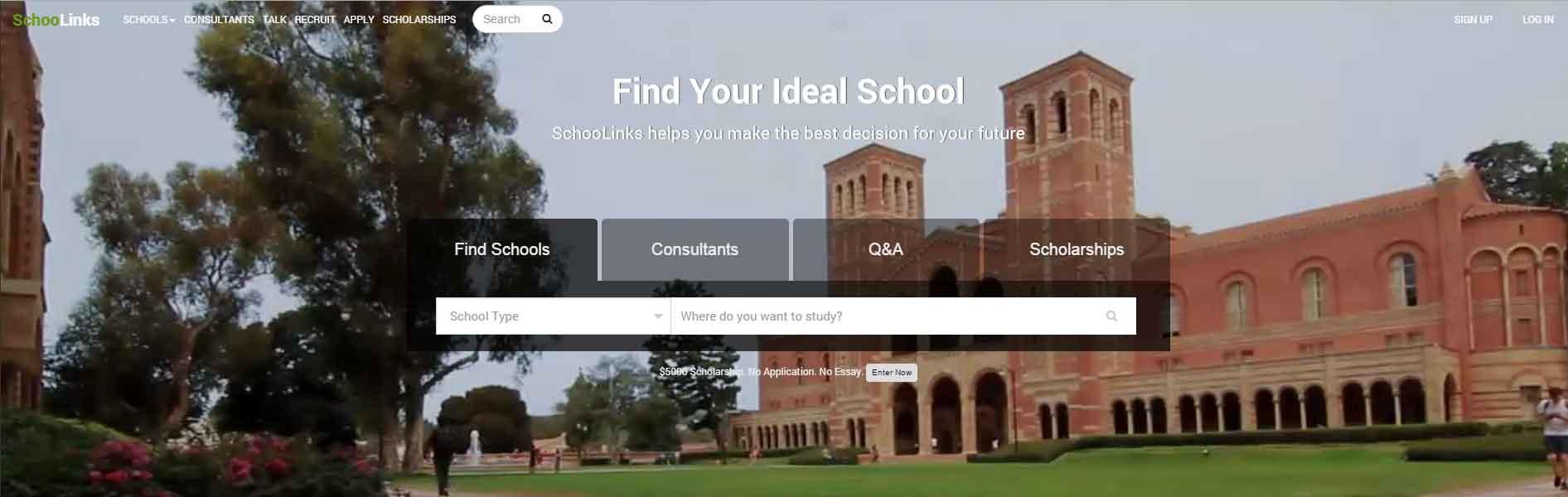 schoolinks-website