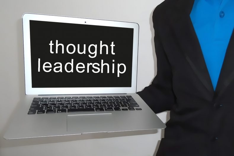 how to become a thought leader in your industry