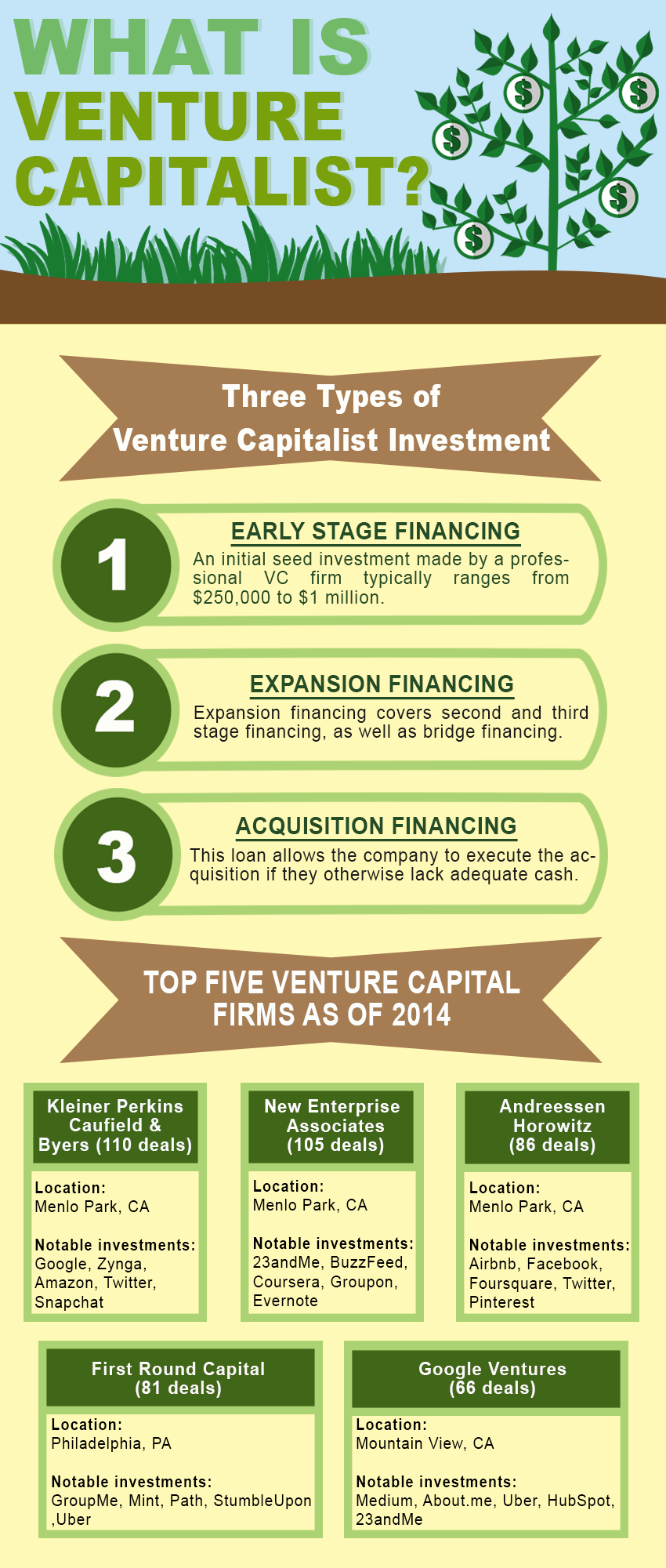 what is venture capitalist infographics