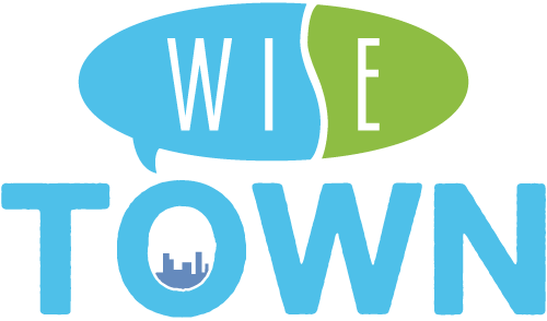 wise town logo