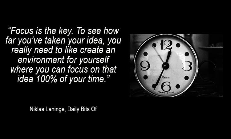 Niklas Laninge Quote