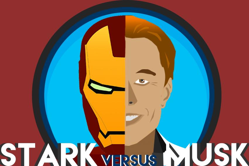 Elon musk , ironman