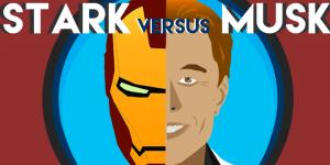 tony start vs elon musk comparison