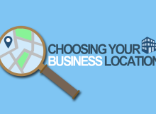 choosing your business Location requirements