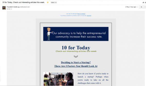 FG newsletter