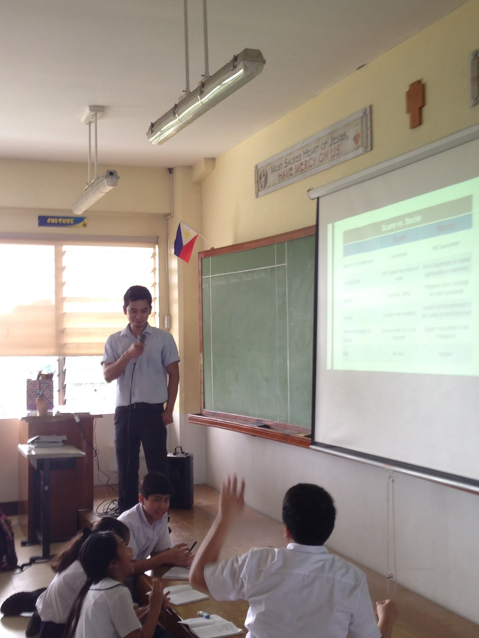 Founder's Guide Teaches SHS-AdC Students about Stocks