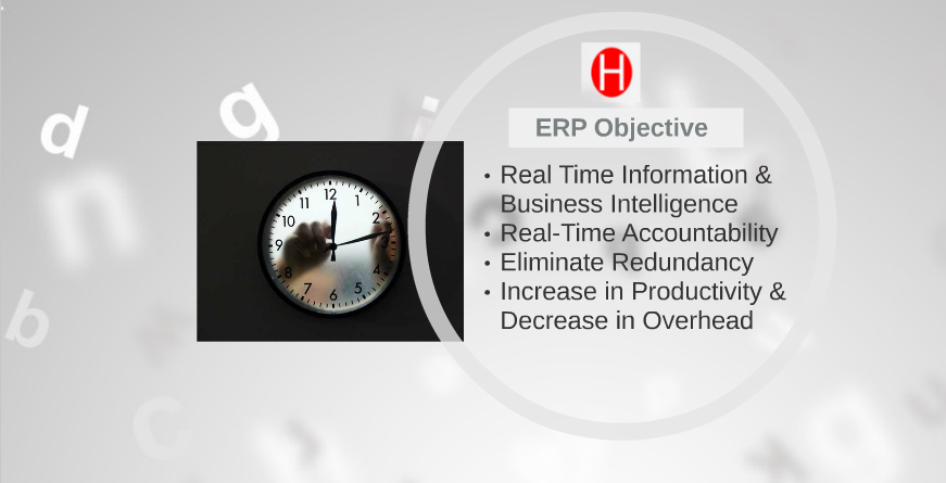 ERP Objective