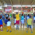 National Basketball Star Leads TM Basketball Clinic in Cebu