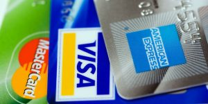 credit cards master card amex visa