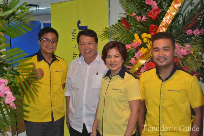 "Ryan Tordesillas-JobStreet.com VisMin Provincial Sales Manager, Atty. Sisinio ""Bebs"" Andales Cebu City Councilor, Ms. Yolanda R. Buyco-Seek Asia Regional Marketing Operations Manager and Mr. Angelo Romano P. Jayno-JobStreet.com Sales Supervisor"