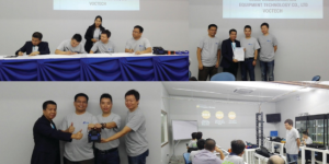 Voctech and D-flex signed a MOA with Tianjin Eloik November 5, 2016