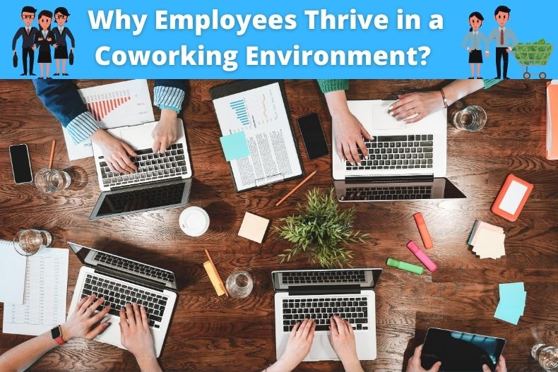 4 Key Reasons Why Employees Thrive in a Coworking Environment