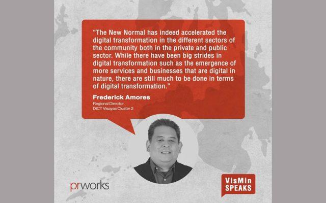 DICT Visayas Cluster 2 director sketches digital road in VisMin